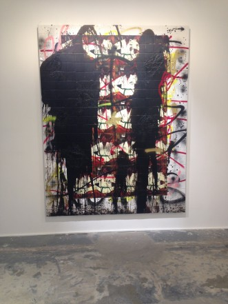 Peinture Rashid Johnson / Photo: Cora Delacroix
