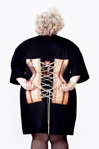 Le dos se lace comme un corset