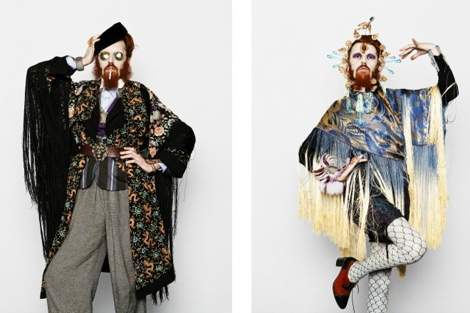 """Aymeric Bergada du Cadet, fashion stylist. """"Self-Styled"""""""