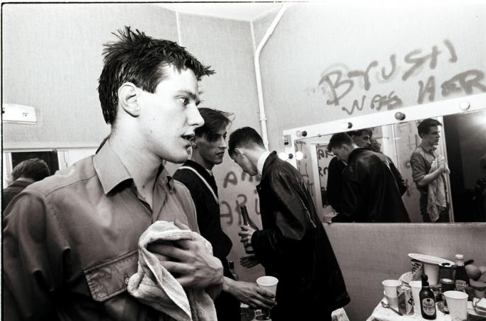 Jean Luc Buro, New Order, soirée au Bains Douches, Mars 81