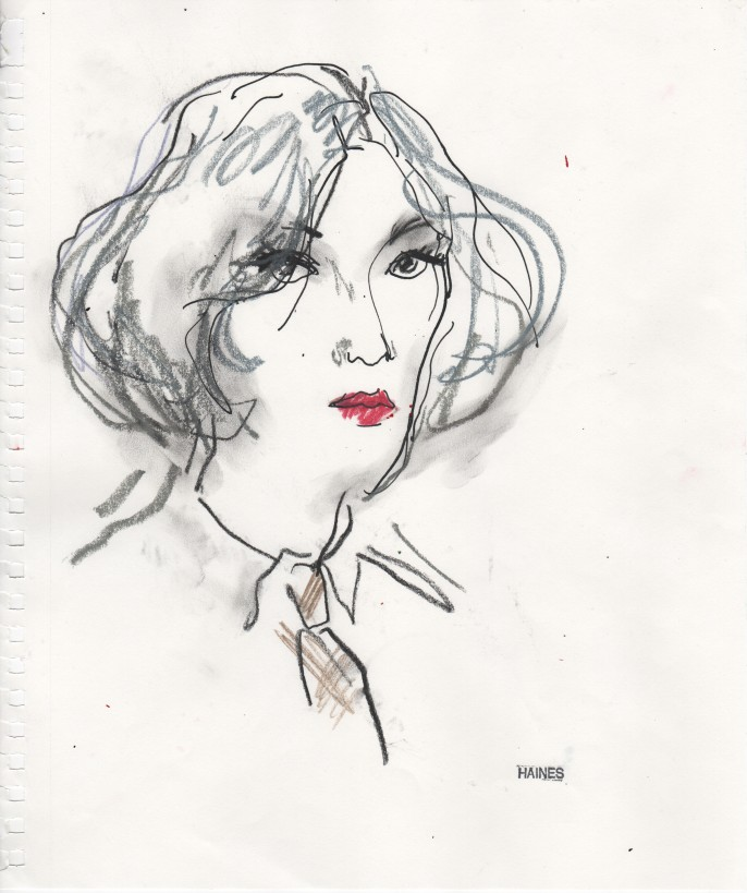 Portrait d'Andy Warhol - Andy in Drag - Richard Haines-