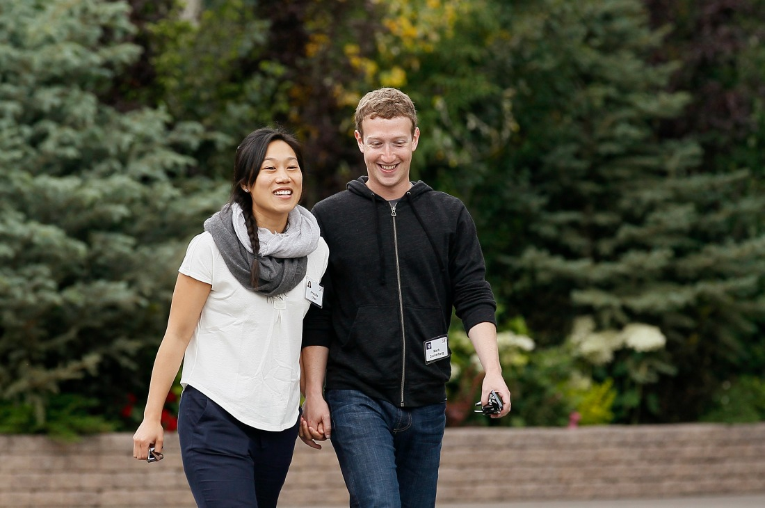 Mark et sa femme Priscilla Chan / Photo : Reuteurs Rick Wilking