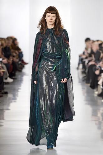 Maison Margiela, Automne Hiver 2016 - robe en soie
