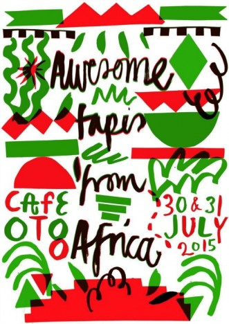 Café Oto, poster