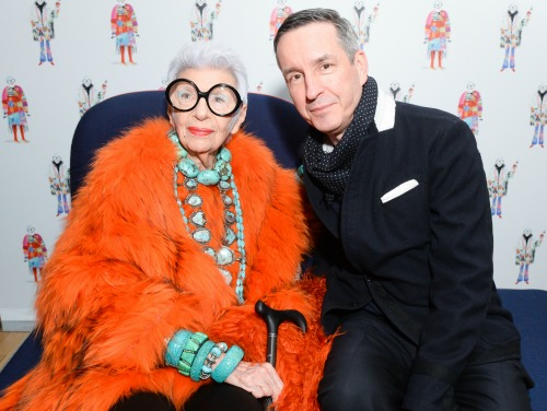 Iris Apfel, Dries Van Noten