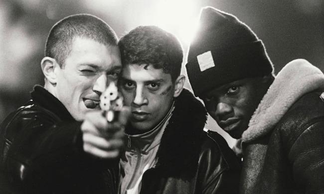 La Haine, Vincent Cassel, Saïd Taghamoui et Hubert Koundé / Photo: Everett/Rex/Shutterstock