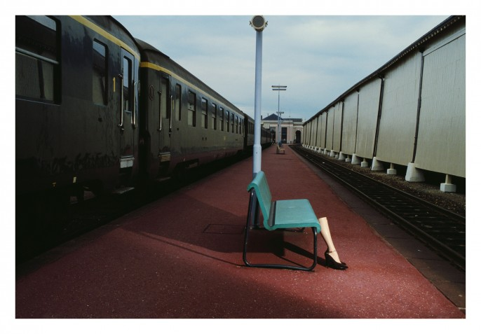 Walking legs. Guy Bourdin.