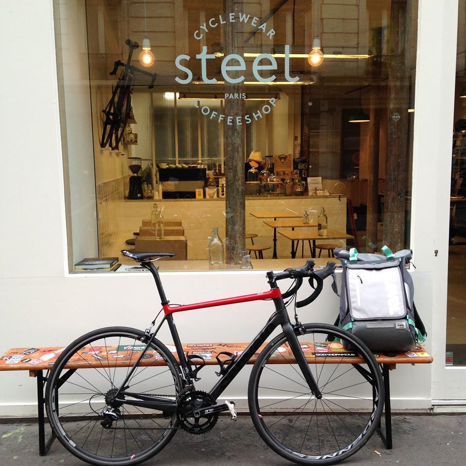 Steel Cyclewear Coffeeshop à Paris