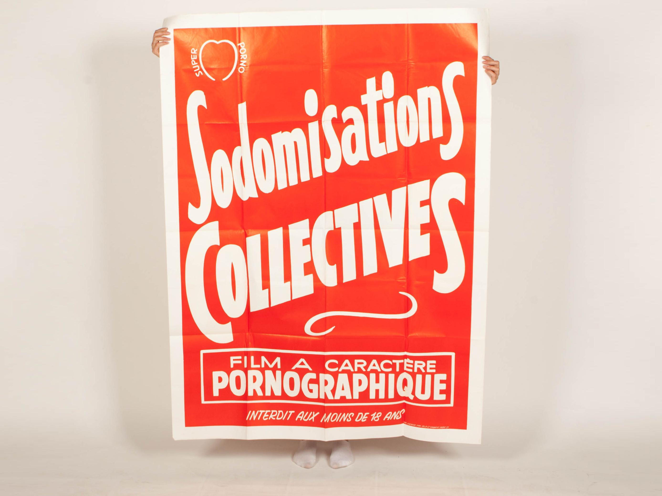 Sodomiastion collective à retrouver dans Pornographisme